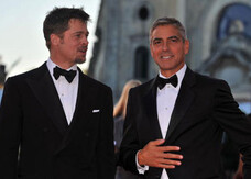 Venezia 65: George & Brad stregano il red carpet