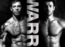 "Warrior, un poster ""a petto nudo"""