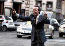 To Rome with Love: nuova foto e prime clip con Benigni