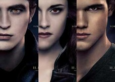 Breaking Dawn – Parte 2, i character poster di Bella, Edward e Jacob