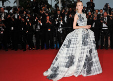 Cannes 2012, Diane Kruger regina del red carpet di chiusura