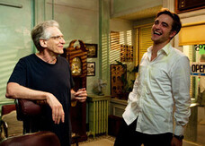 Robert Pattinson e David Cronenberg inseparabili