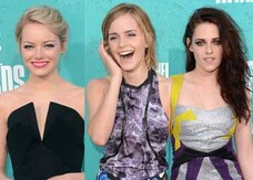 Mtv Movie Awards 2012, le bellissime del red carpet