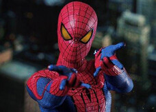 The Amazing Spider-Man, le foto dell'action figure dell'Uomo Ragno