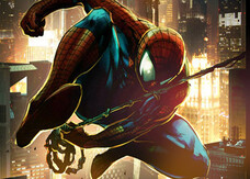 The Amazing Spider-Man, i concept art dello scontro finale