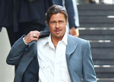 The Counselor: Brad Pitt con baffo, pizzetto e codino per Ridley Scott. Guarda la gallery