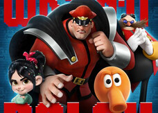 Ralph Spaccatutto, i character poster con Sonic, Pac-Man e Dottor Eggman