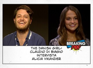 The Danish Girl, Claudio Di Biagio intervista Alicia Vikander. Il video