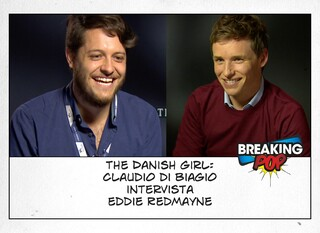 The Danish Girl, Claudio Di Biagio intervista Eddie Redmayne. Il video