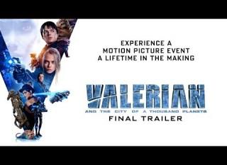 Valerian e la città dei mille pianeti – Il final trailer ufficiale