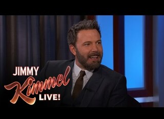 Ben Affleck ospite al Jimmy Kimmel Live!