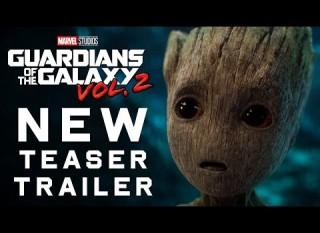 Guardiani della Galassia Vol. 2 – Il nuovo trailer in lingua originale
