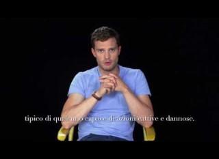 Cinquanta Sfumature di Nero – Intervista a Jamie Dornan (sottotitoli in italiano)