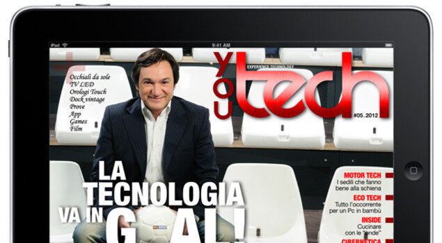 In goal con Fabio Caressa su You Tech di maggio