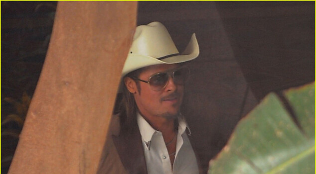 The Counselor, prima immagine di Brad Pitt in versione cowboy per Ridley Scott