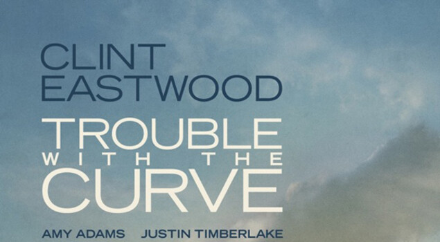 Trouble with the Curve, il poster con Clint Eastwood