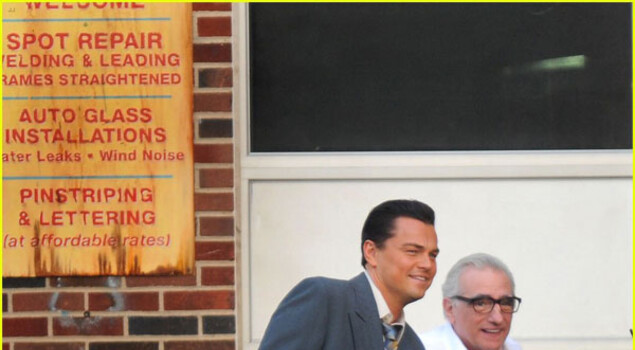 Wolf of Wall Street, DiCaprio sul set con Scorsese in nuove foto