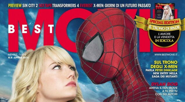 L'ultimo bacio? Best Movie di aprile sul set di The Amazing Spider-Man 2