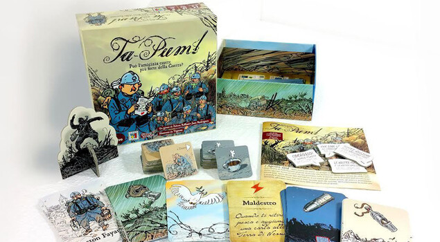 Ta-Pum, tutti in trincea con il boardgame di Oliphante