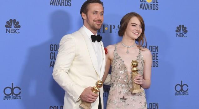 Golden Globes 2017: tutti i vincitori. Per La La Land è record