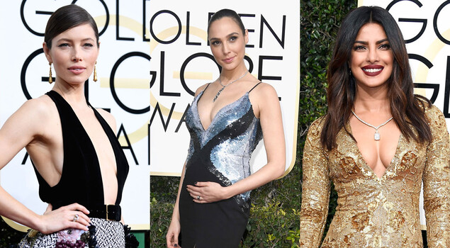 Golden Globes 2017: i look più sexy sul red carpet