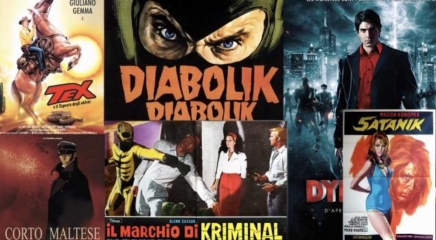 Cinema e fumetti made in Italy: la miniera d'oro
