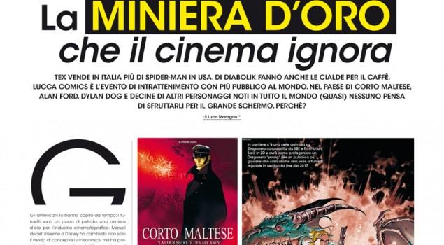 Fumetti italiani e industria del cinema: Box Office indaga sul loro rapporto