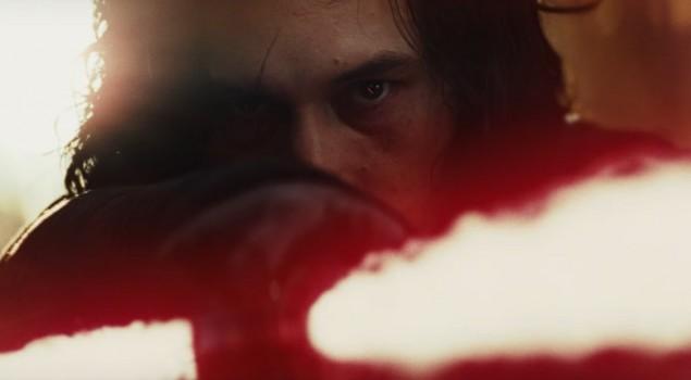 Star Wars: Gli Ultimi Jedi, come mai Rian Johnson ha spostato la cicatrice di Kylo Ren?