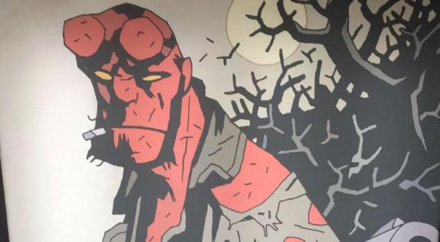 Hellboy, David Harbour è il Diavolo Rosso nella prima foto dal set del reboot