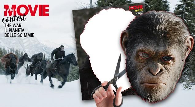 Su Best Movie di luglio il contest Aiuta le Scimmie a conquistare il Pianeta!