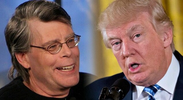 Trump ha bloccato lo scrittore Stephen King su Twitter