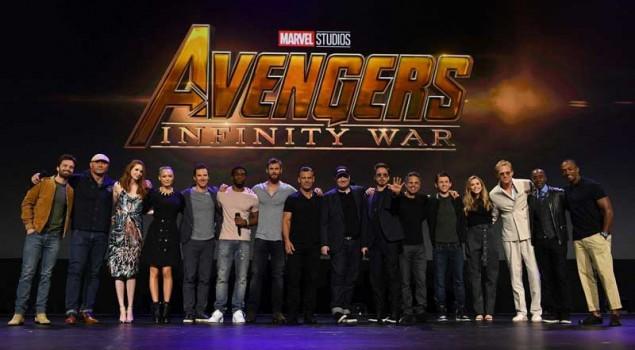 D23: il cast di Avengers: Infinity War sul palco del panel Marvel