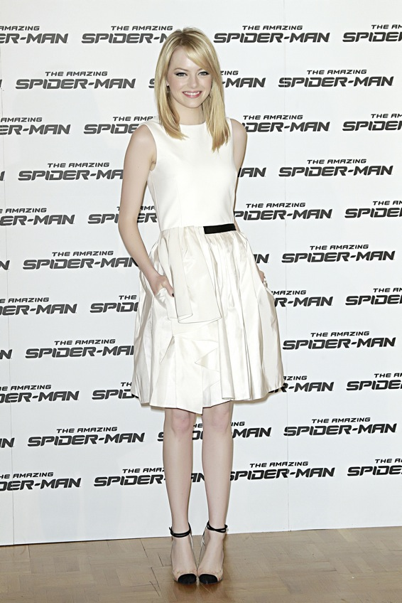 The Amazing Spider-Man photocall romano