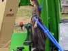 Angelina Jolie sul set di Maleficent