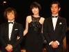Mamoru Oshii, Rinko Kikuchi e Ryo Kase.