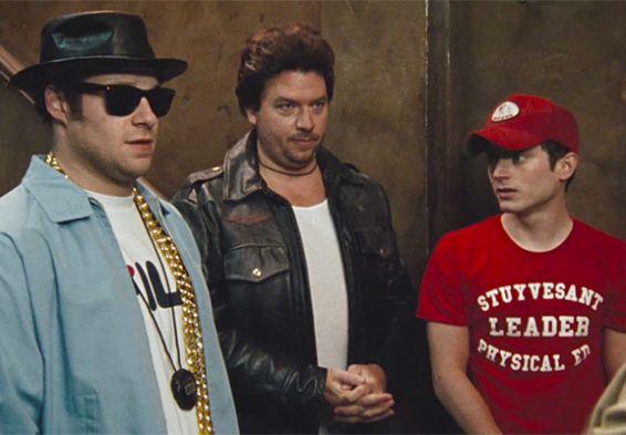 Seth Rogen, Elijah Wood & Danny McBride