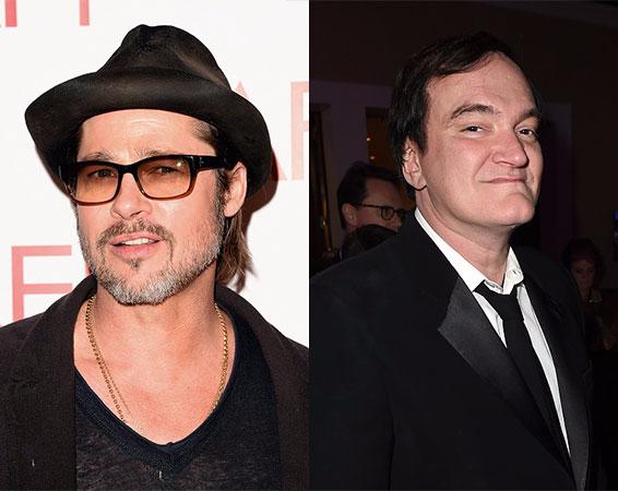 Brad Pitt e Quentin Tarantino