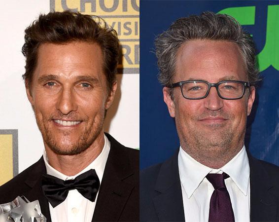 Matthew Perry e Matthew McConaughey