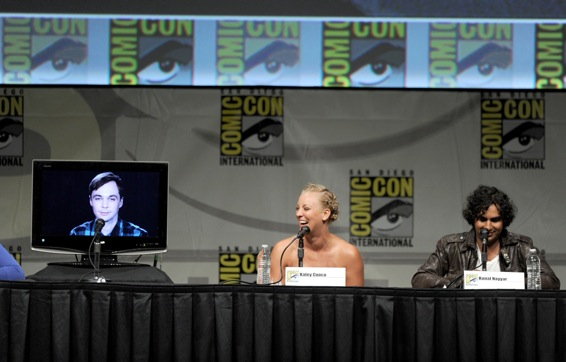 Comic-Con 2012 - Panel Big Bang Theory