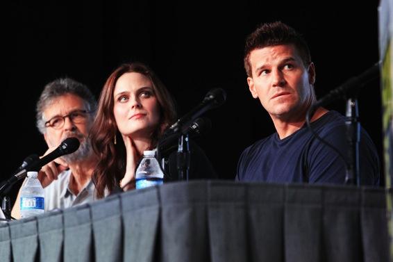 Comic-Con 2012 - panel Bones