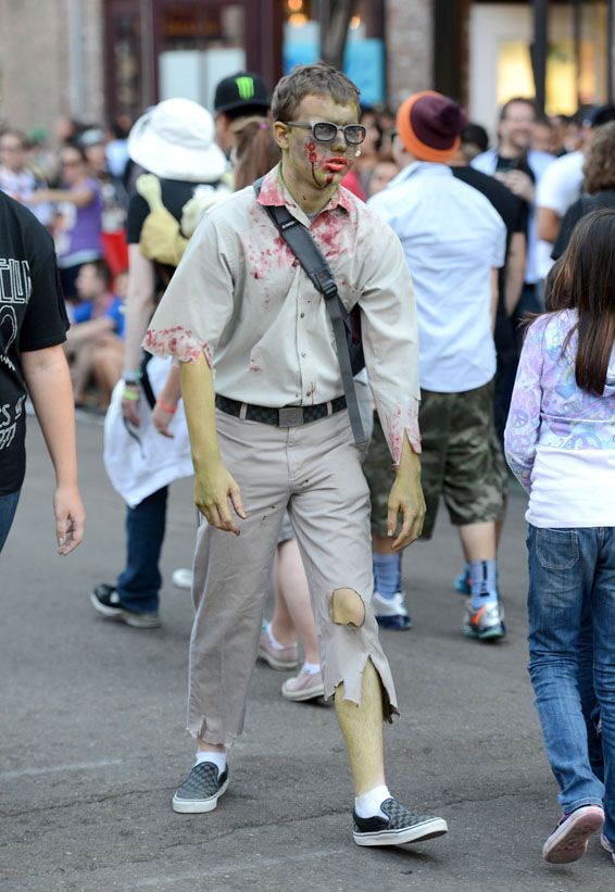 Comic-Con 2012 - La sfilata di zombie