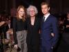 Emma Stone con Jane Aronson e Andrew Garfield (2011)