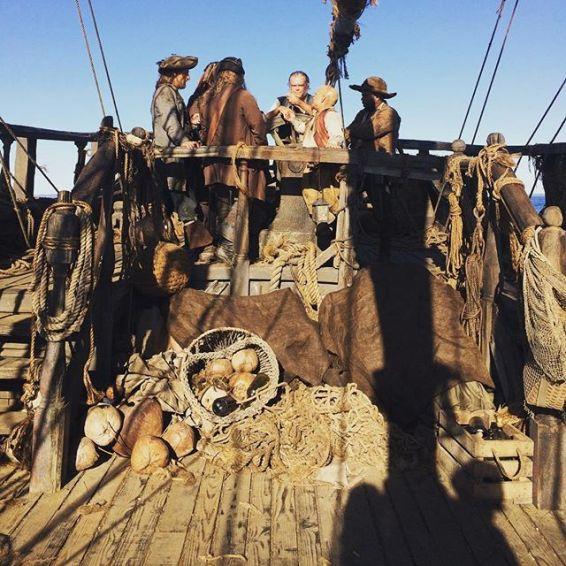 8. Foto set Pirati dei Caraibi 5