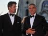 Brad Pitt e George Clooney.
