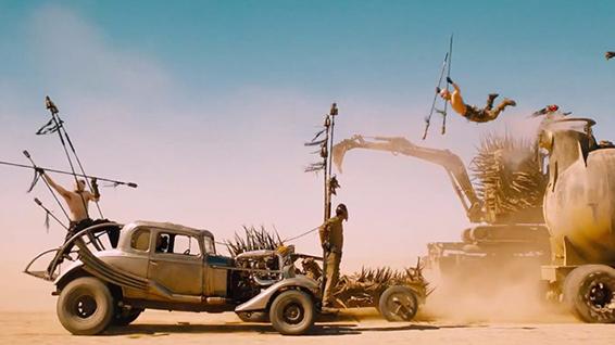 3. Mad Max: Fury Road | 8 errori