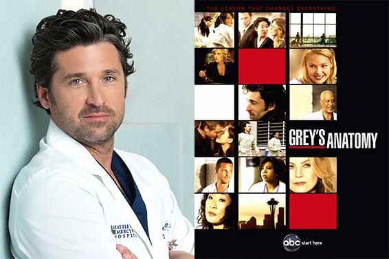 Patrick Dempsey | Grey's Anatomy (2005-)