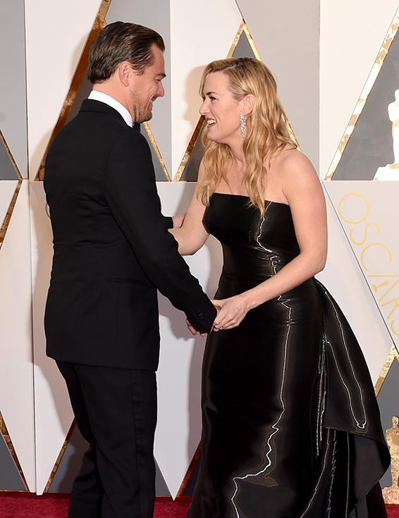 03. Oscar 2016: Leonardo DiCaprio e Kate Winslet