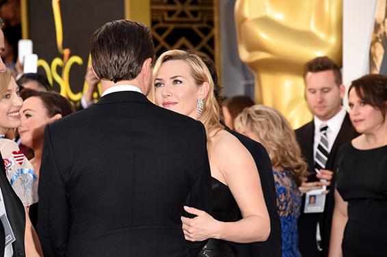 07. Oscar 2016: Leonardo DiCaprio e Kate Winslet