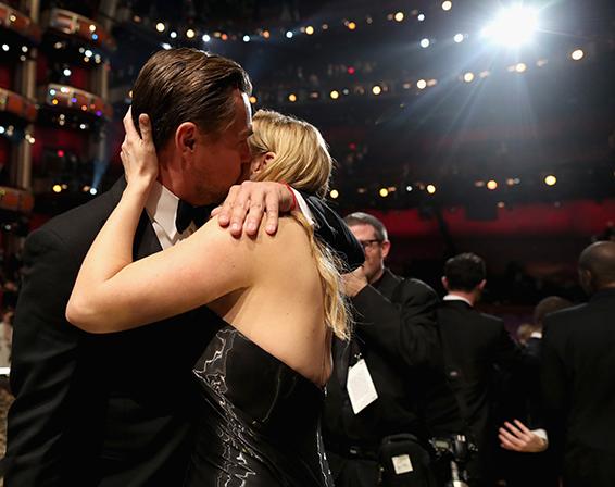 09. Oscar 2016: Leonardo DiCaprio e Kate Winslet