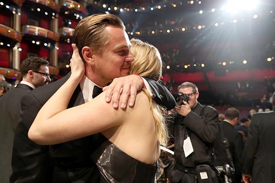 10. Oscar 2016: Leonardo DiCaprio e Kate Winslet